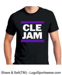 CLE JAM T-SHIRT Design Zoom